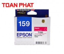 Mực in phun màu Epson T159 Magenta Ink Cartridge (C13T159390) - SP R2000