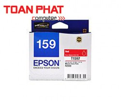 Mực in phun màu Epson T159 Red Ink Cartridge (C13T159790) - SP R2000