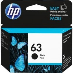 Mực in Phun màu HP 63 Black Original Ink Cartridge (F6U62AA) - Mực đen