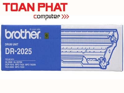 Trống mực Brother DR 2025(Drum cho máy HL-20xx/ DCP-7010/ MFC-7220/ 7420/ 7820N/ FAX-2820/ 2920)